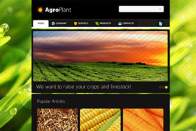 Agroplant website template