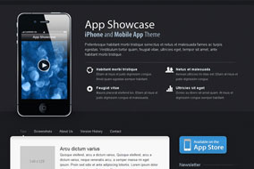 App Showcase website template