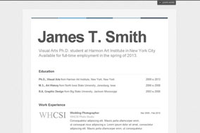Brand Yourself website template