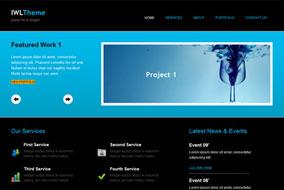IWL website template
