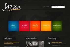 Jayson website template