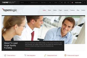 Openlogic website template