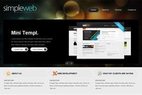 Simpleweb website template