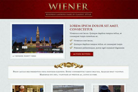 Wiener website template