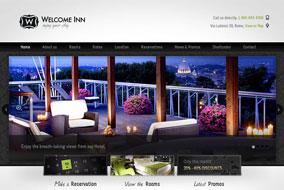 Welcome Inn website template