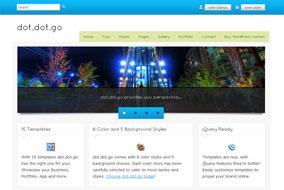 Dot dot go website template