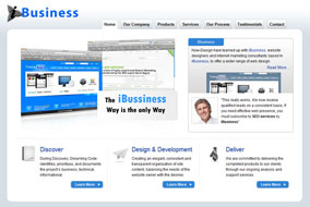 iBusiness website template