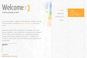 Mini Design website template