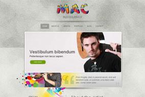 Sonic Sound website template