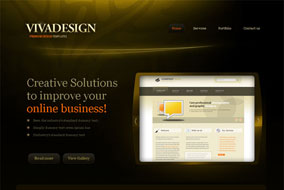 Vivadesign website template